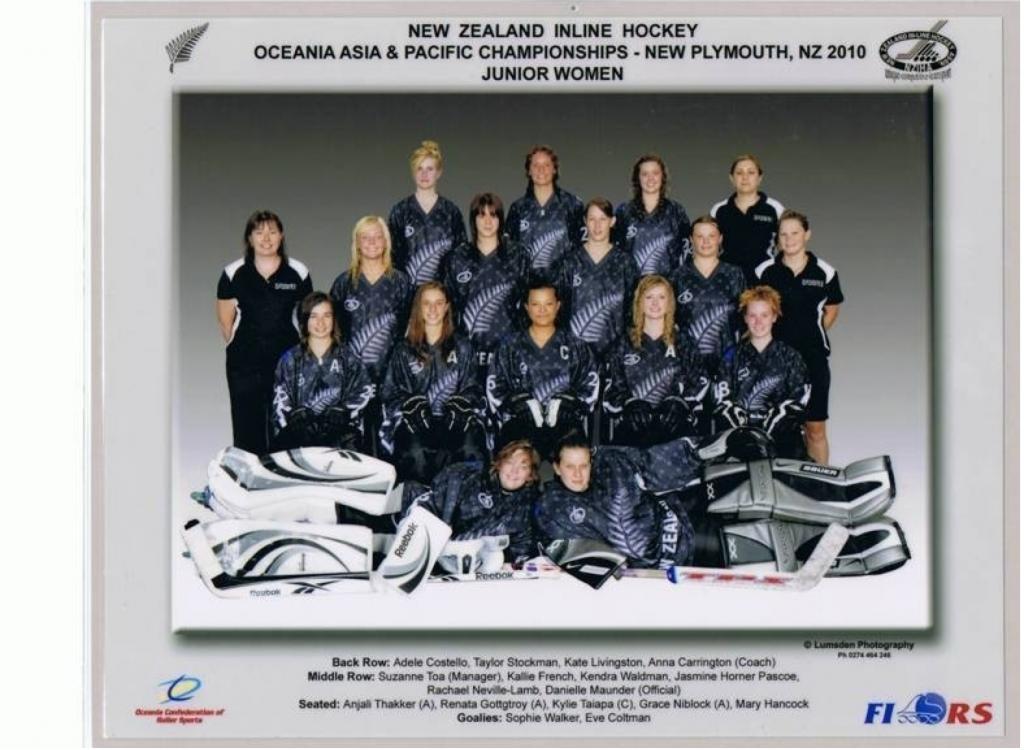 New Zealand Inline hockey